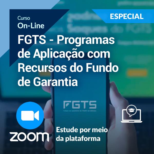 FGTS - Programas de Aplicação com Recursos do Fundo de Garantia (On-Line)
