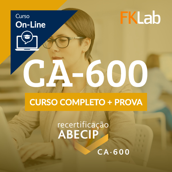 Recertificação CA-600 - Curso Completo + Avaliação On-Line